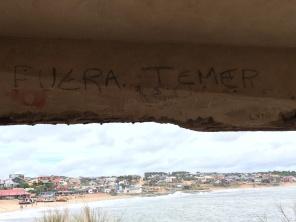 Nossos hermanos estão sabendo do sufoco que estamos passando! #fueratemer