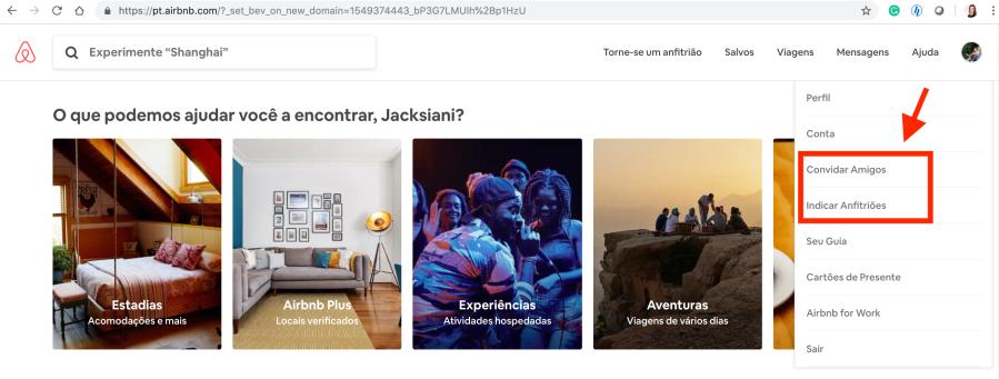 indicação airbnb